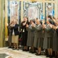 El Papa Francisco en su visita a las Salesianas.  Fuente: